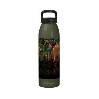 樺の木|森林|反射 飲み物ボトル