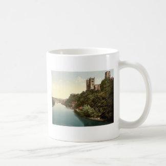 橋からのカテドラルそして城、ダラム、 コーヒーマグカップ