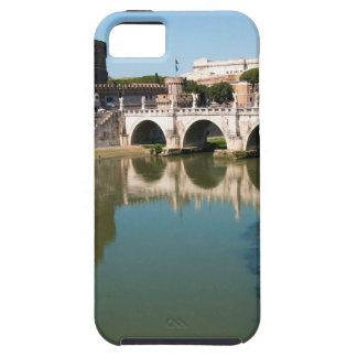 橋からの神聖な天使の城 iPhone SE/5/5s ケース