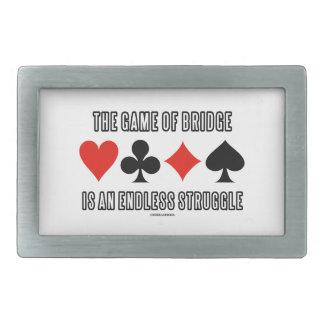 橋のゲームは無限の苦闘です 長方形ベルトバックル