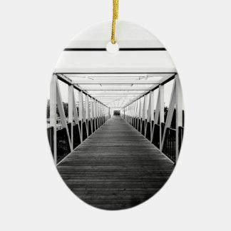 橋の端 セラミックオーナメント