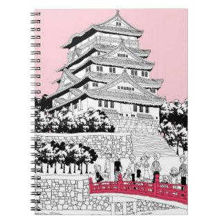 橋の観光客 ノートブック