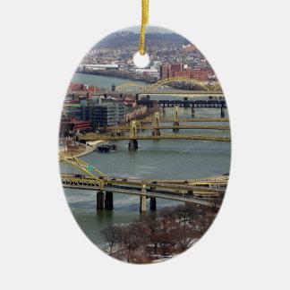橋の都市 セラミックオーナメント