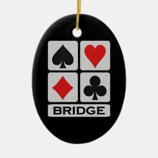 橋オーナメント セラミックオーナメント