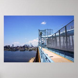 橋上のフィラデルヒィア ポスター