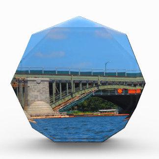 橋写真ボストンアメリカ米国 表彰盾