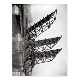 橋南場所、ボストン1900年 ポストカード