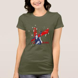 橋石の女の子 Tシャツ