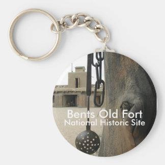 橋脚の古い城砦Keychain キーホルダー