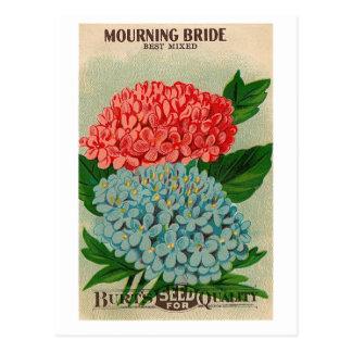 橋花のseedpacketの郵便はがきを嘆くヴィンテージ ポストカード
