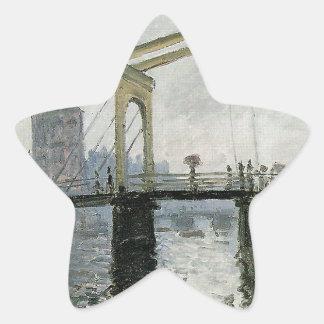 橋、クロード・モネ著アムステルダム 星シール