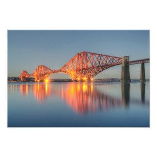 橋、スコットランド フォトプリント