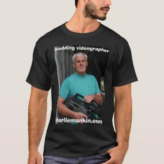 橋、ビデオグラファーを結婚するcharliemankin.com tシャツ