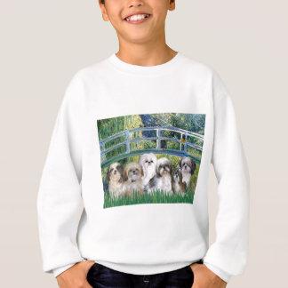 橋- 6シーズー(犬)のtzus スウェットシャツ