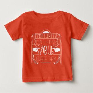 機会のMovitvationalの服装 ベビーTシャツ