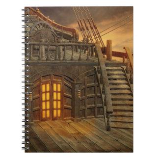 機内海賊船のノート ノートブック