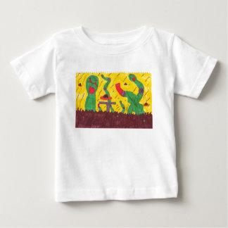 機械みみず ベビーTシャツ