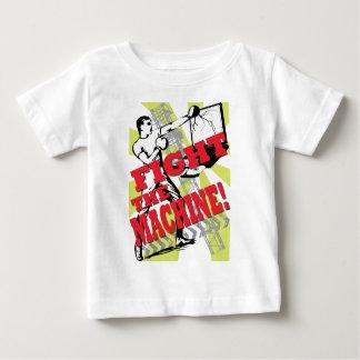 機械を戦って下さい ベビーTシャツ
