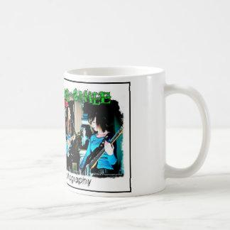 機械スマイルのマグ コーヒーマグカップ