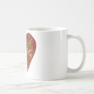 機械ハート コーヒーマグカップ