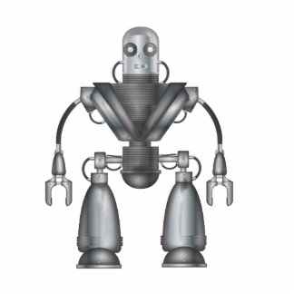 機械ロボット漫画 写真彫刻バッジ