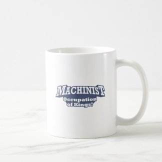 機械工-王の職業! コーヒーマグカップ