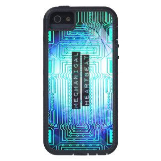 機械心拍の場合のシンプル iPhone SE/5/5s ケース