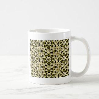 機械機械パターン コーヒーマグカップ