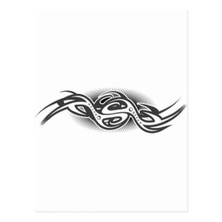 機械湾曲のデザイン ポストカード