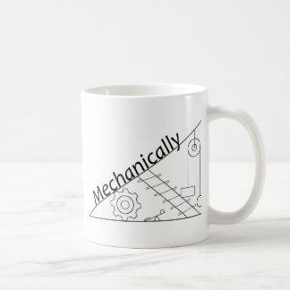 機械的に傾向がある コーヒーマグカップ