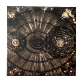 機械Steampunkの(占星術の)十二宮図の星座 タイル