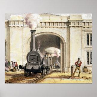 機関車の家、キャムデンの町への入口、 ポスター