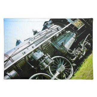 機関車01のアメリカ人のMoJoの古いランチョンマット ランチョンマット