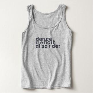 欠損の無秩序-ダンスの恋人のためのタンクトップ--を踊って下さい タンクトップ