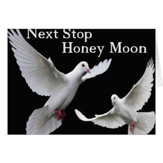 次に、停止蜂蜜の月 カード