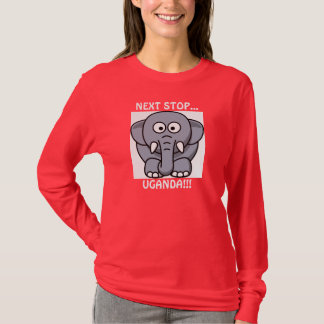 次の停止…、ウガンダ!!! Tシャツ