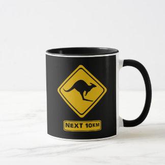 次の10のkmのカンガルー マグカップ