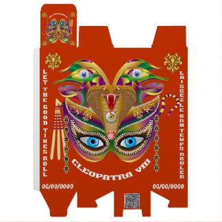 次デザインについての謝肉祭のCleopatraVIIIの読書 ワインギフトボックス