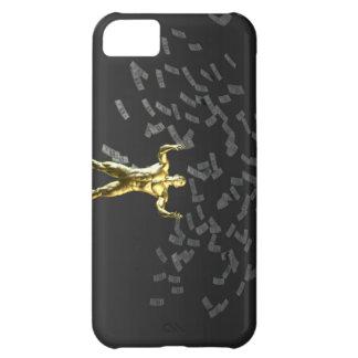 次人が付いている空から落ちるお金 iPhone5Cケース