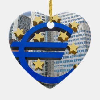欧州中央銀行ブランクフルトのヨーロッパの印 セラミックオーナメント