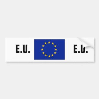 欧州連合のバンパーステッカー バンパーステッカー