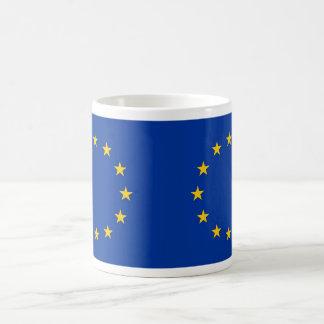 欧州連合の旗が付いているマグ コーヒーマグカップ
