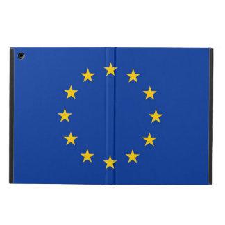 欧州連合の旗との愛国心が強いipadの場合 iPad airケース