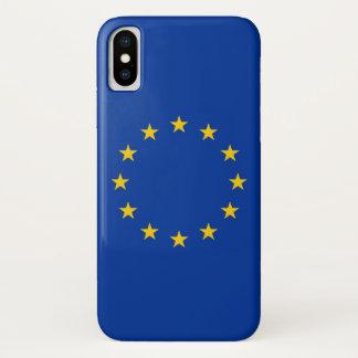 欧州連合の旗とのIphone愛国心が強いXの場合 iPhone X ケース