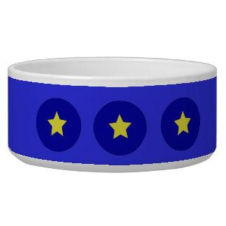 欧州連合の旗の星のペットボウル
