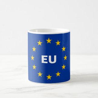 欧州連合EUはコーヒー・マグに印を付けます コーヒーマグカップ