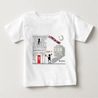 欲求と示される市街電車 ベビーTシャツ