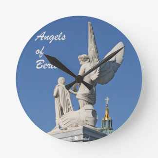欲求の翼-ベルリンの天使 ラウンド壁時計