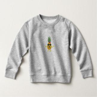 歌うパイナップル スウェットシャツ