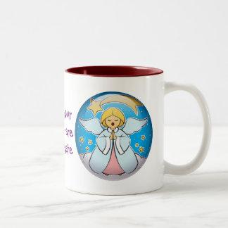 歌う天使 ツートーンマグカップ